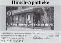 Hirsch-Apotheke Braunschweig